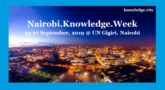 Nairobi.  Knowledge.  Week